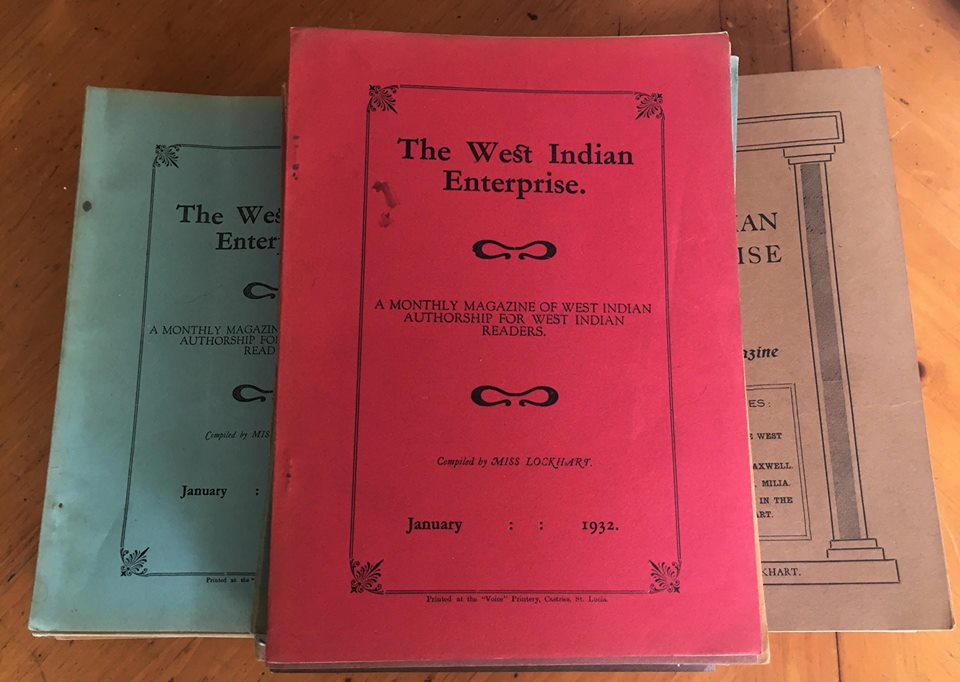 The West Indian Enterprise: A Monthly Magazine of West Indian Authorship for West Indian Readers