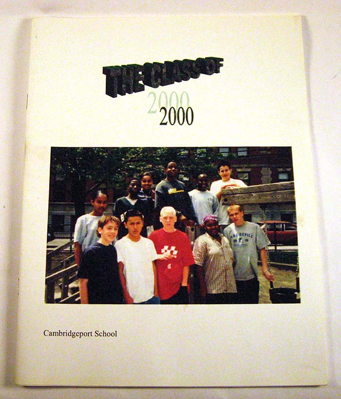 Cambridgeport School Class of 2000 Yearbook
