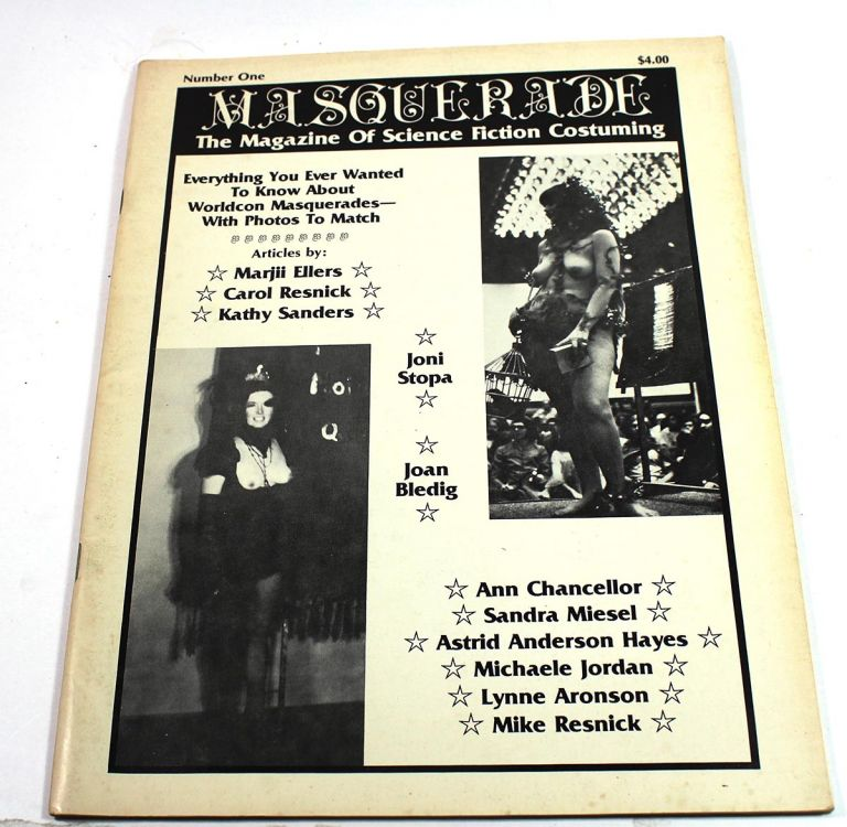 Masquerade, Number One: The Magazine of Science Fiction Costuming. Mike Resnick.