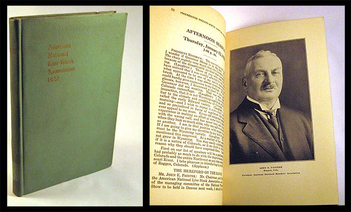 Proceedings Of The Twenty-fifth Annual Convention Of The American National Live Stock Association 1922
