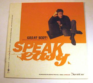 SpeakEasy: The Magazine for Creative Types, Volume 3, Issue No. 2, Spring 2001