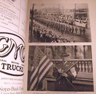 Welcome Home Souvenir Book in Honor of Everett Soldiers and Sailors