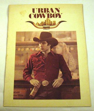 John Travolta, Urban Cowboy: Souvenir Program