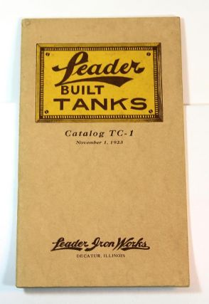 Leader Built Tanks: Catalog TC-1, November 1, 1923