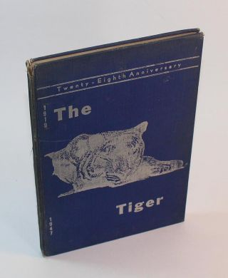 "Ipswich Massachusetts Class of 1947 Yearbook (""The Tiger"""