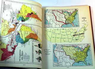 American History Atlas and United States Index
