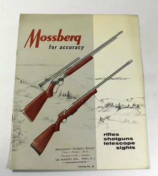 Mossberg for Accuracy, Catalog No. 59 (1959