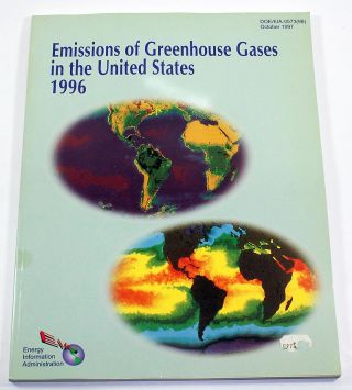 Emissions of Greenhouse Gases in the United States, 1996. DOE/EIA-0573(96