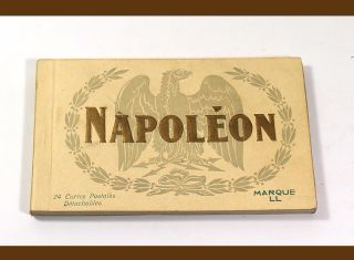 Napoleon [collection of 24 postcards