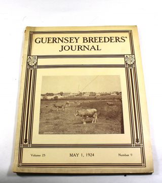 Guernsey Breeders' Journal, Volume 25, Number 9. May 1, 1924