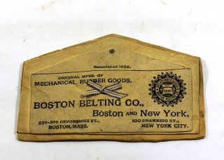 Manufacturer's Sample from Boston Belting Co