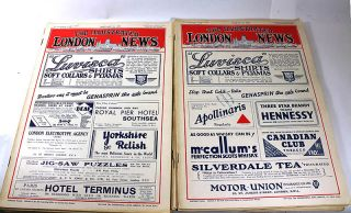The Illustrated London News [7 issues from 1932