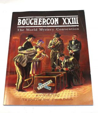 Bouchercon XXIII, 8-11 October 1992, Royal York Hotel, Toronto, Canada. Al Navis