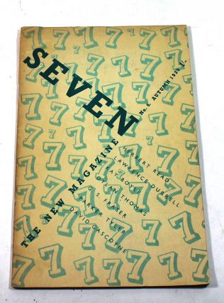 Seven: The New Magazine, No. 6, Autumn 1939. Nicholas Moore