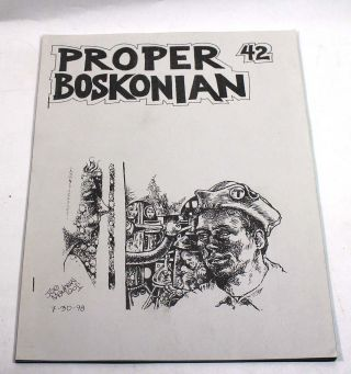 Proper Boskonian 42, November 1997. Evelyn C. Leeper