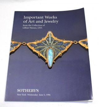 Important Works of Art and Jewelry from the Collection of Lillian Nassau, Ltd., Sotheby's New...