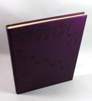 1971 Memorial High School, Middleboro, Massachusetts Yearbook