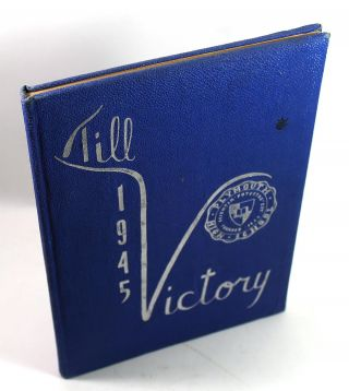 1945 Plymouth High School Yearbook