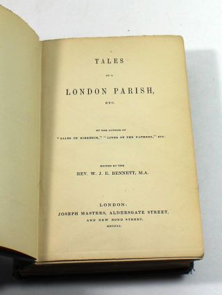 Tales Of A London Parish, Etc.