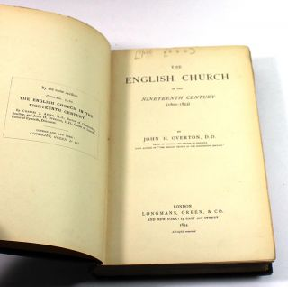 Th English Church in the Nineteenth Century (1800-1833)