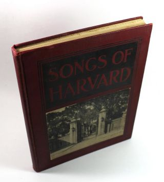 Songs of Harvard. Lloyd Adams Noble
