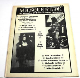 Masquerade, Number One: The Magazine of Science Fiction Costuming. Mike Resnick