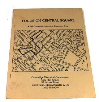 Focus on Central Square: A Self-Guided Architectural Tour
