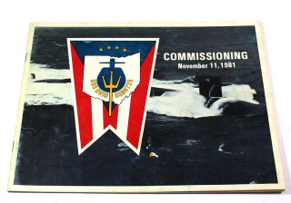 USS Ohio SSBN726. Commissioning, November 11, 1981