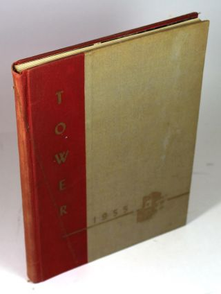1955 (Manhasset High School) Tower Yearbook