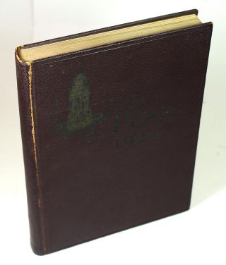 "1924 Phillips Exeter Academy Yearbook (""The Pean"""