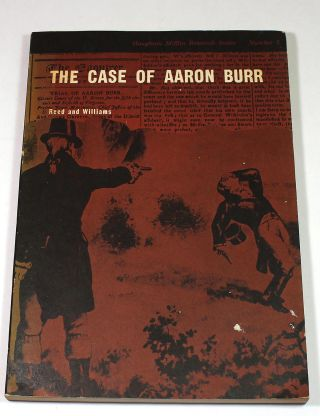 The Case of Aaron Burr