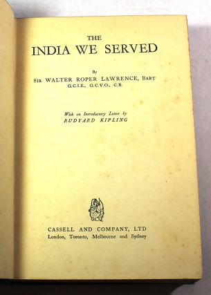 The India We Served