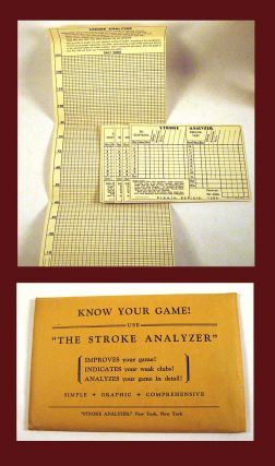 "Know Your Game! / Use ""The Stroke Analyzer"